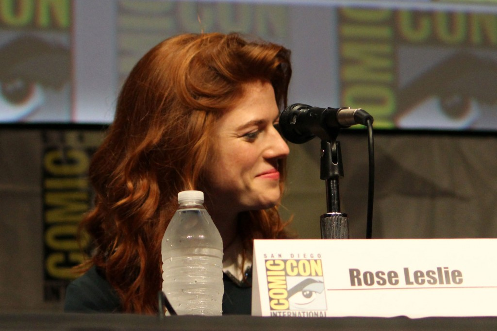 SDCC 2012: HBOs Game of Thrones panel: Rose Leslie
