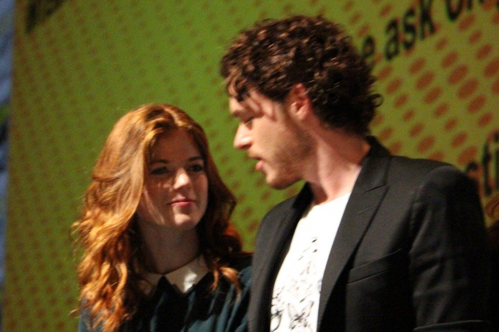 SDCC 2012: HBOs Game of Thrones panel: Rose Leslie, Richard Madden