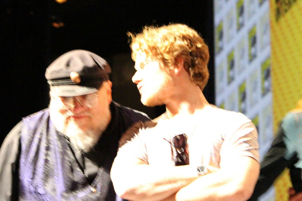 SDCC 2012: HBOs Game of Thrones panel: George R.R. Martin, Alfie Allen