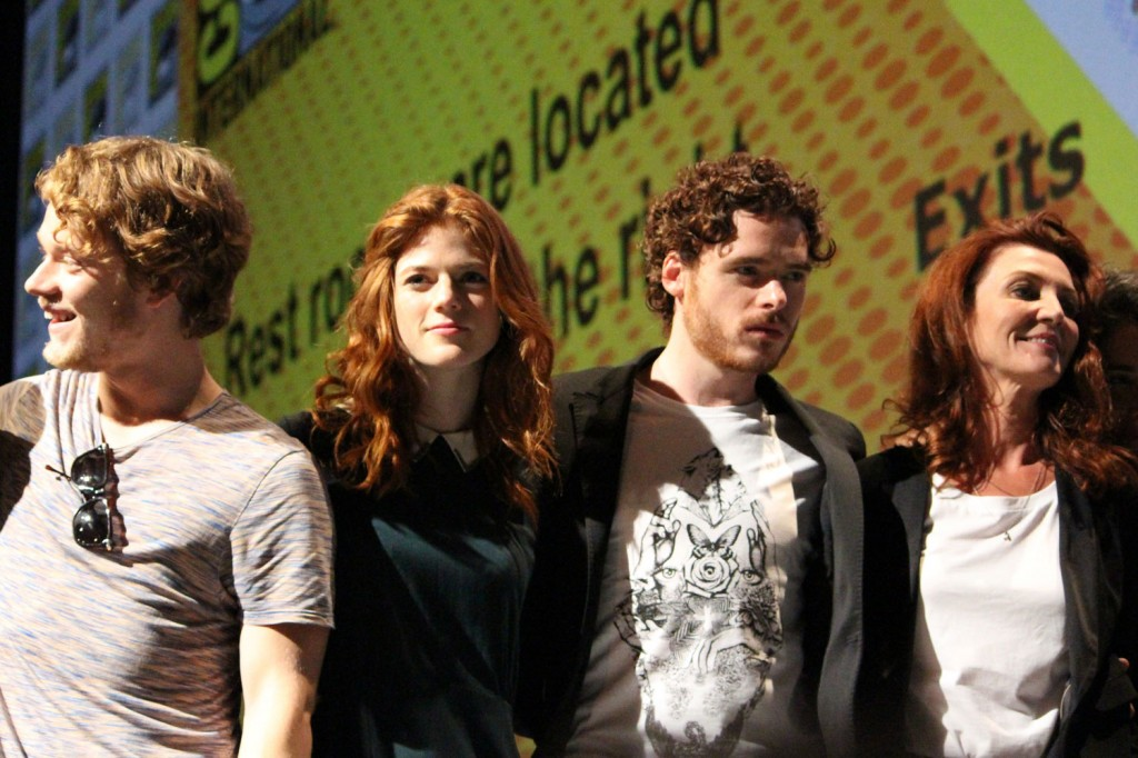 SDCC 2012: HBOs Game of Thrones panel: Alfie Allen, Rose Leslie, Richard Madden, Michelle Fairley