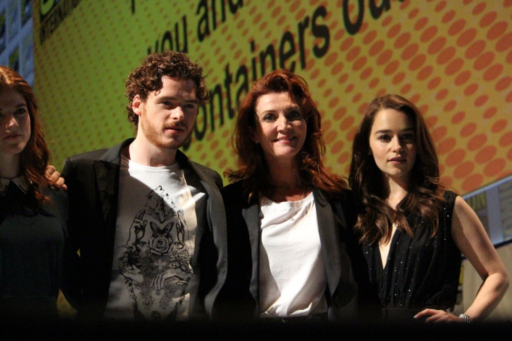 SDCC 2012: HBOs Game of Thrones panel: Rose Leslie, Richard Madden, Michelle Fairley, Emilia Clarke
