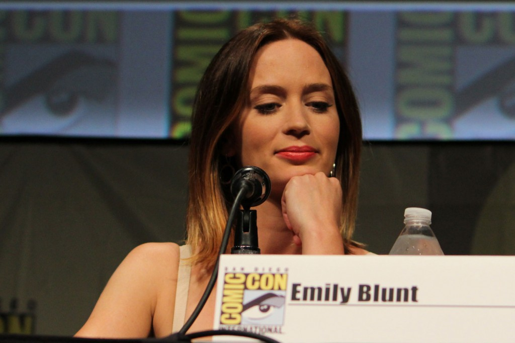 SDCC 2012: Looper panel: Emily Blunt