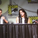 SDCC 2012: Resident Evil panel: Oded Fehr, Michelle Rodriguez, Milla Jojovich
