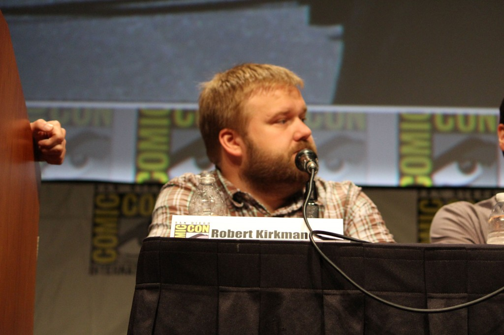 SDCC 2012: The Walking Dead panel: creator Robert Kirkman