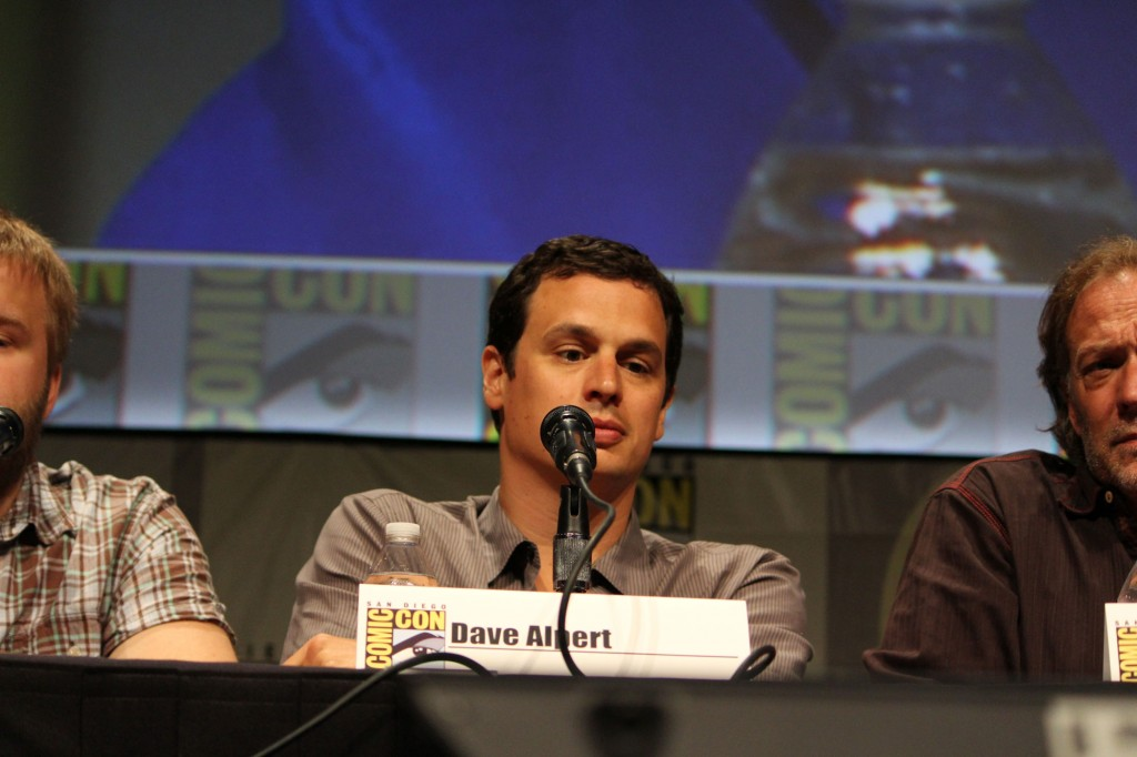 SDCC 2012: The Walking Dead panel: David Alpert