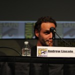 SDCC 2012: The Walking Dead panel: Andrew Lincoln