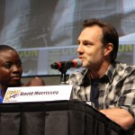 SDCC 2012: The Walking Dead panel: David Morrissey