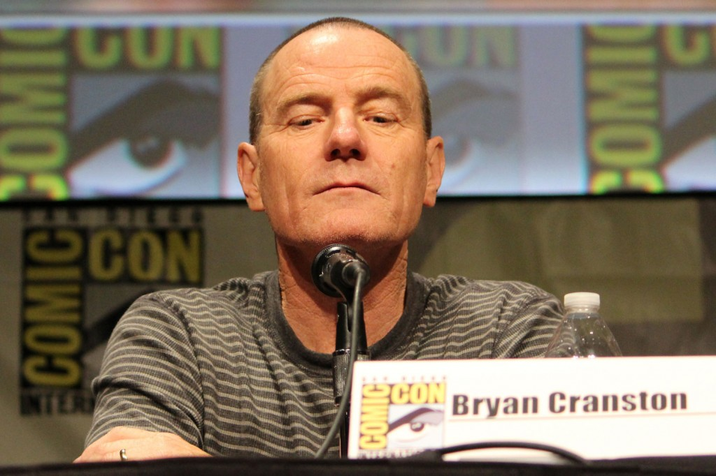 SDCC 2012: Total Recall panel: Bryan Cranston
