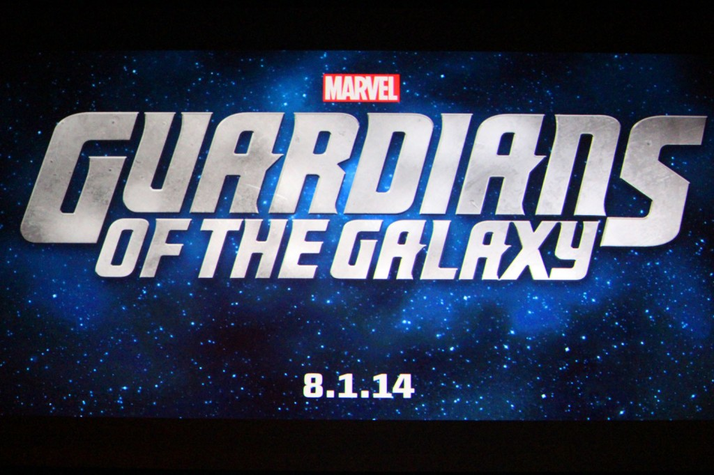 SDCC 2012: Marvel Panel: Guardians Of The Galaxy title card