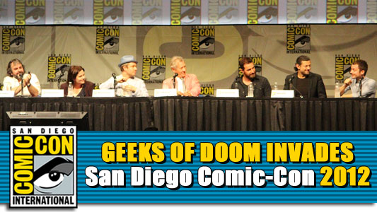 SDCC 2012: The Hobbit: An Unexpected Journey panel