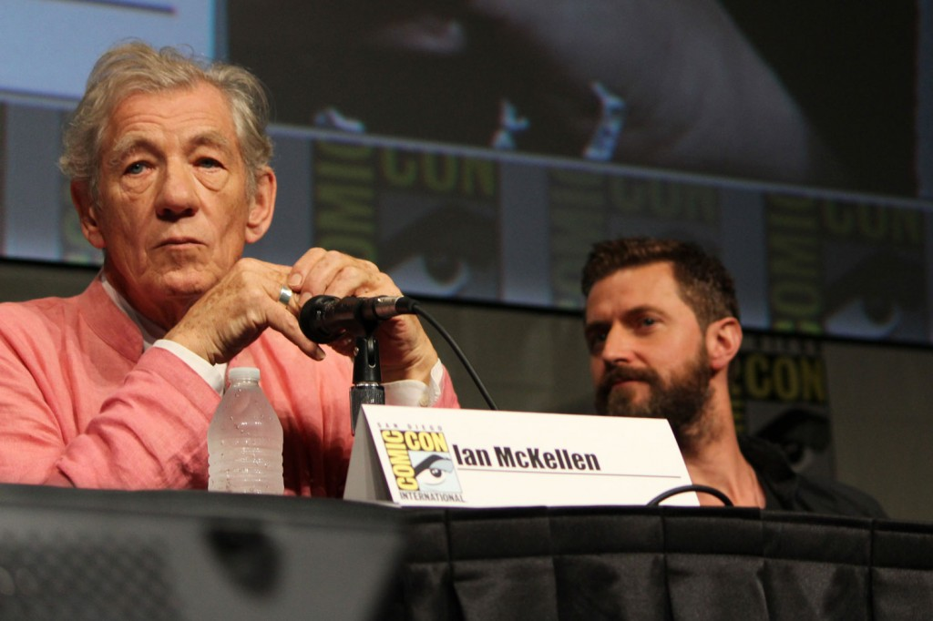 SDCC 2012: The Hobbit: An Unexpected Journey panel: Sir Ian McKellen, Richard Armitage