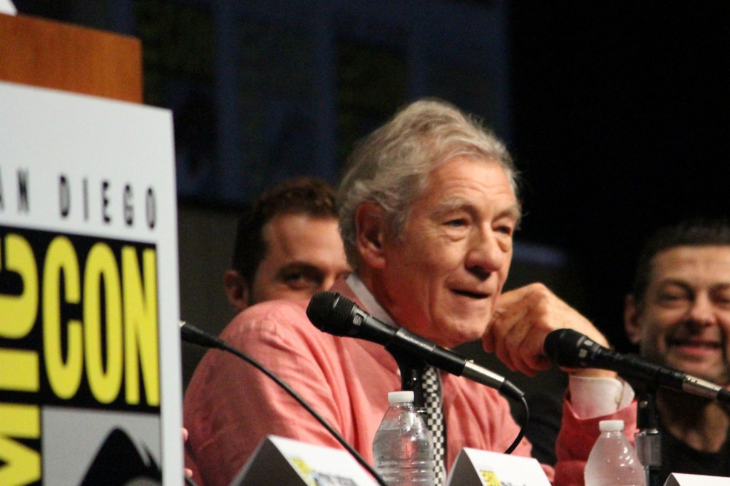 SDCC 2012: The Hobbit: An Unexpected Journey panel: Sir Ian McKellen