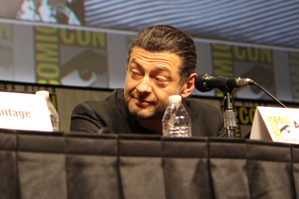 SDCC 2012: The Hobbit: An Unexpected Journey panel: Andy Serkis