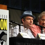 SDCC 2012: The Hobbit: An Unexpected Journey panel: Martin Freeman, Sir Ian McKellen