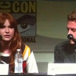 SDCC 2012: Doctor Who panel: Karen Gillan and Arthur Darvill