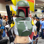 SDCC 2012: Cosplay Round-Up: Boba Fett crossplay