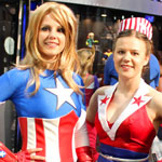 SDCC 2012: Cosplay Round-Up: Captain America crossplay