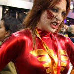 SDCC 2012: Cosplay Round-Up: Dark Phoenix zombie