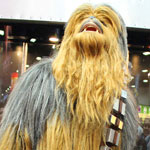 SDCC 2012: Cosplay Round-Up: Impressive Chewbacca Wookie costume