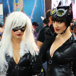 SDCC 2012: Cosplay Round-Up: Black Cat and Catwoman
