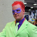 SDCC 2012: Cosplay Round-Up: Riddler