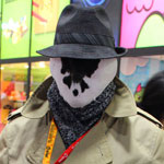 SDCC 2012: Cosplay Round-Up: Rorschach
