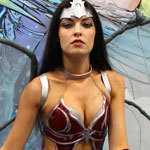 SDCC 2012: Cosplay Round-Up: Aspen Comics Booth babe