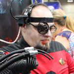 SDCC 2012: Cosplay Round-Up: Star Trek: TNG Borg with ALIEN Chestburster