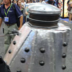 SDCC 2012: Cosplay Round-Up: A Doctor Who Dalek rides on by