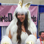 SDCC 2012: Cosplay Round-Up: Girls Drawin Girls Unicorn