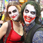 SDCC 2012: Cosplay Round-Up: Harley Quinn and The Joker