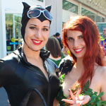 SDCC 2012: Cosplay Round-Up: Catwoman and Poison Ivy