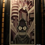 SDCC 2012: Acme Archives brilliant Futurama Benders Big Score print