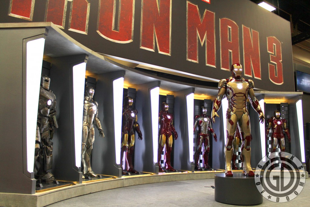 SDCC 2012: Marvels Iron Man 3 booth