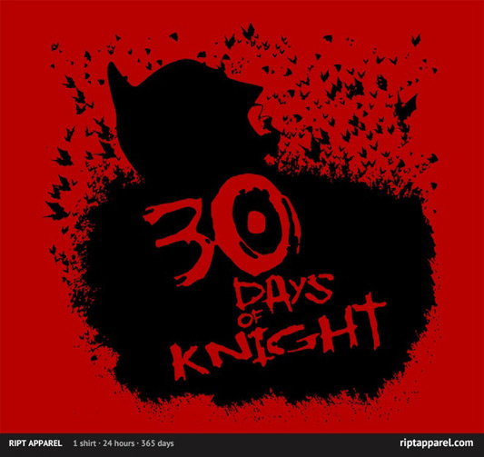 Batman 30 Days Of Night 30 Days Of Knight Shirt