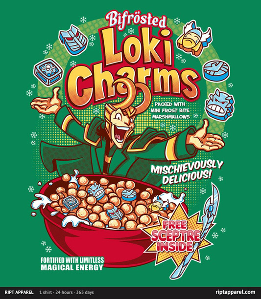 The Avengers Loki Charms Shirt