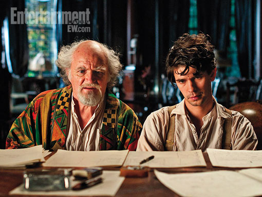 Jim Broadbent and Ben Whishaw In Cloud Atlas
