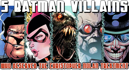 Five Batman Villains