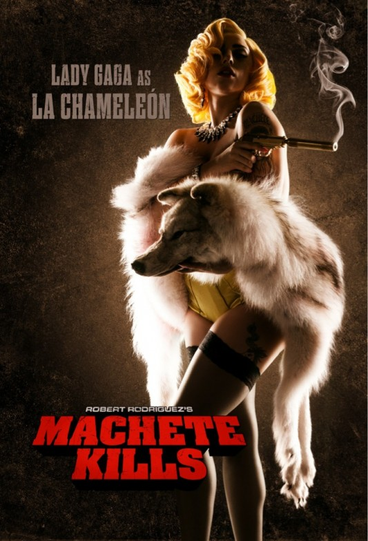 Lady Gaga Machete Kills Poster