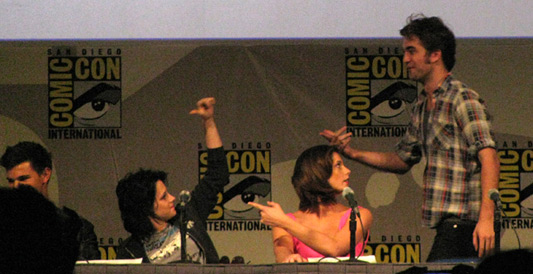 SDCC 2009: Twilight: New Moon panel