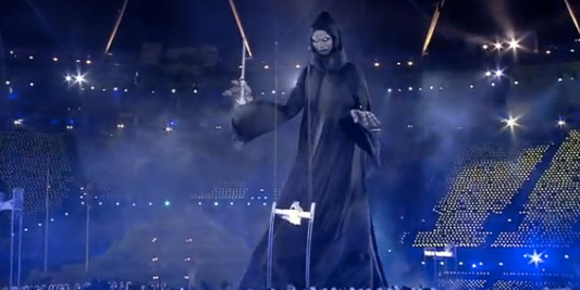 Lord Voldemort At The London 2012 Olympics Opening Ceremony