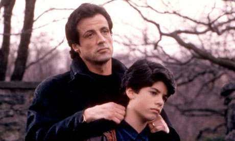Sly and Sage Stallone