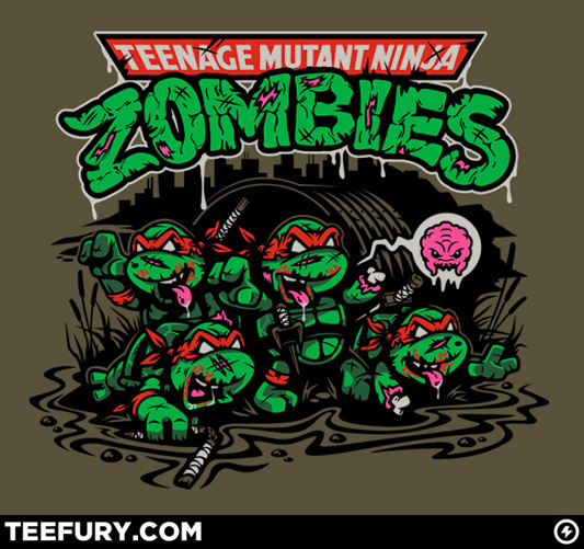 Zombie Teenage Mutant Ninja Turtles