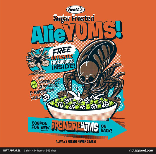 Alien AlieYUMS Shirt