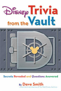 """Disney Trivia from the Vault"" Book Cover"