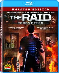 The Raid: Redemption Blu-ray Image