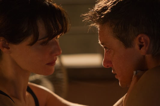 Film Title: The Bourne Legacy Intimate Moment