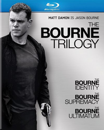 The Bourne Trilogy blu-ray collection