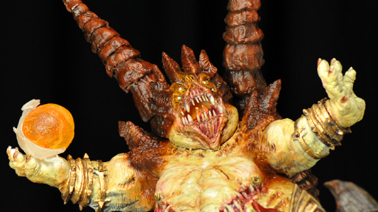 Diablo II Azmodan Lord of Sin sculpture preview by Jason Babler