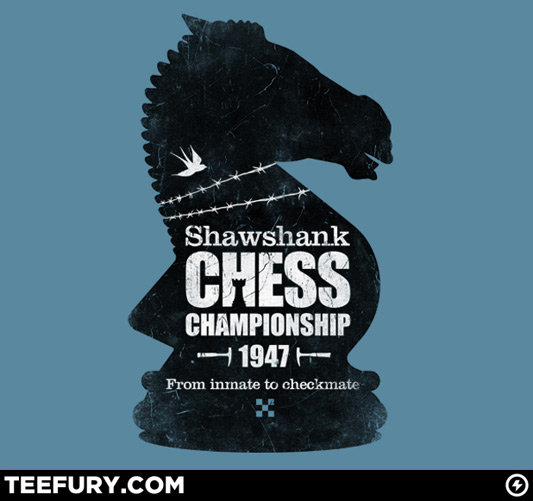 Shawshank Chess Comp Shirt